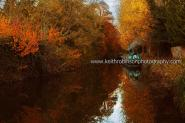Kennet And Avon Canal At Aldermaston In Autumn